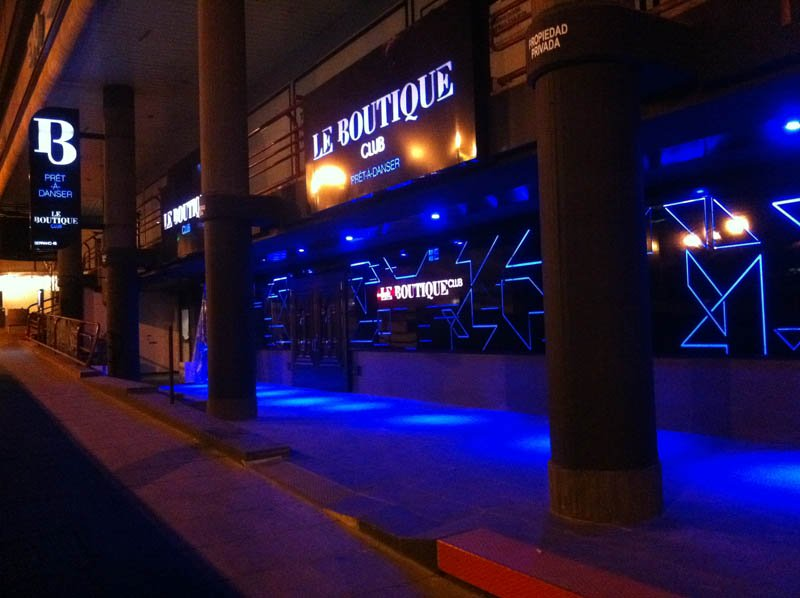 Fachada Le Boutique Club
